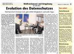 """Artikel aus """"Das Gelbe Blatt"""", 12.10.2011"""