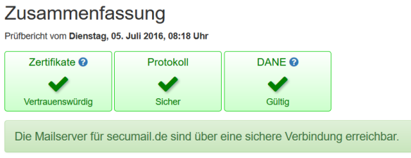 DANE-Screenshot